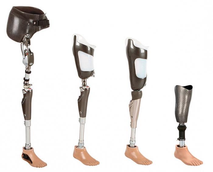 Виды протезов