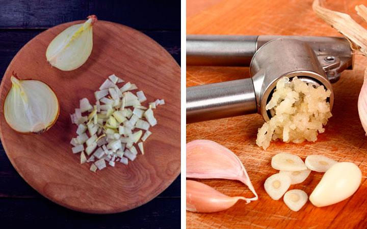 Настойка из лука и чеснока помогают снизить холестерин