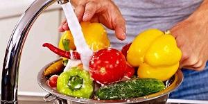 Помывка продуктов
