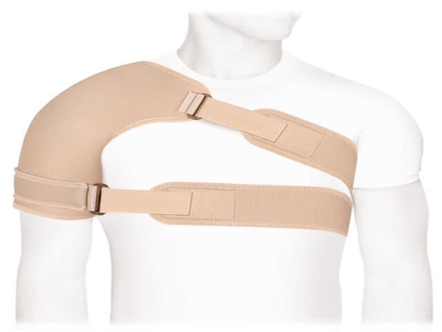 Защитный бандаж для плечевого сустава