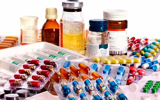Ассорти из таблеток