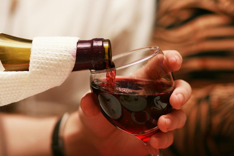Красные сорта вина