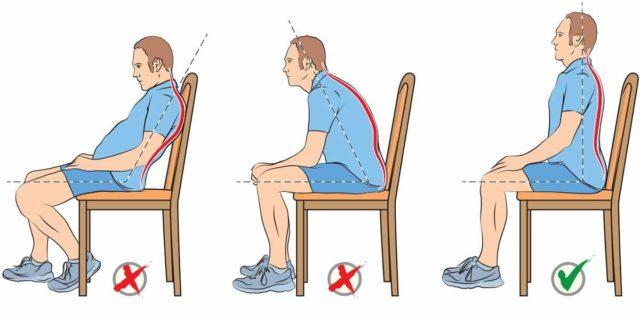 мужчина на стуле в разных позах