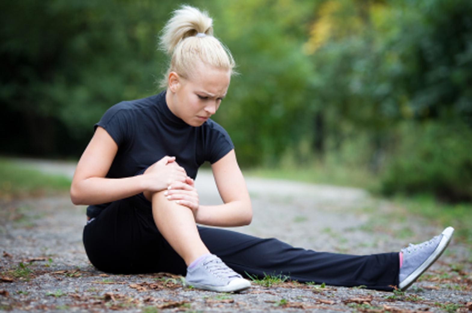 Разрыв связок в коленном суставе