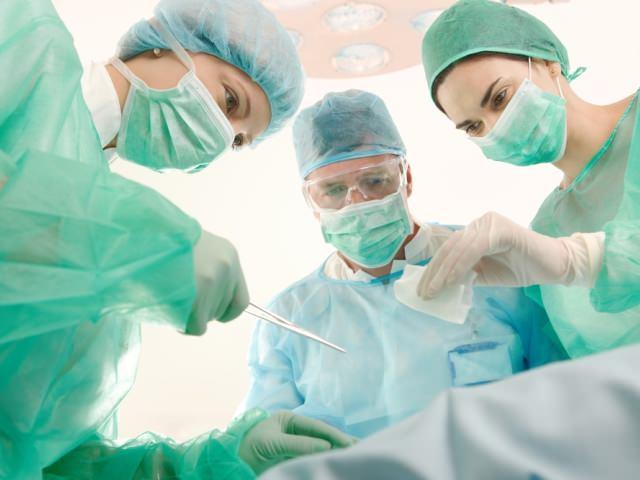 Операция под анестезией