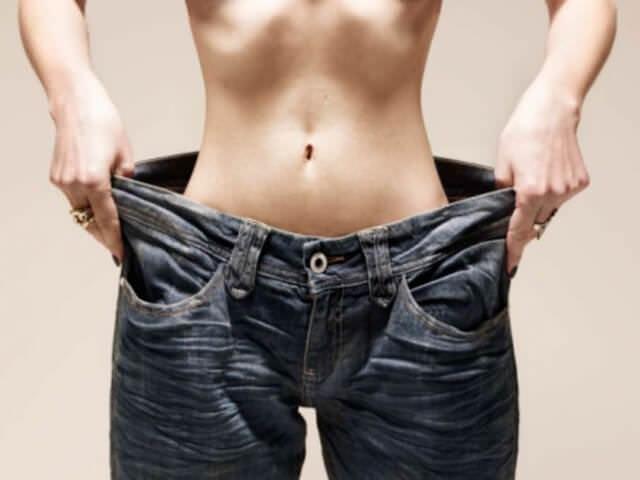 Сильная потеря в весе