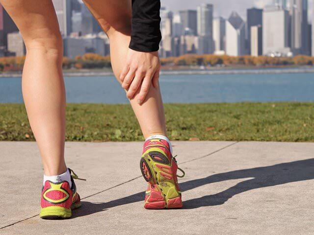 Резкая боль в ноге