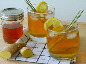 Имбирно-калиновый напиток от варикоза