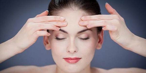 Самомассаж лица от мигрени