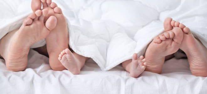 Совместный сон с грудным ребенком