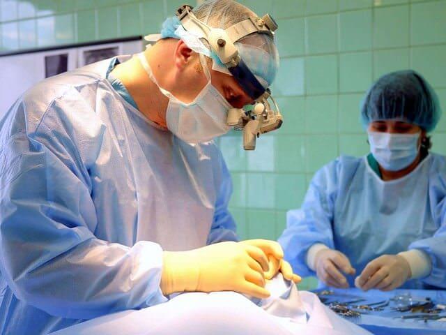 Челюстно-лицевая операция