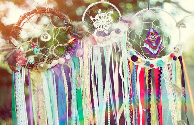 ловец снов разных цветов