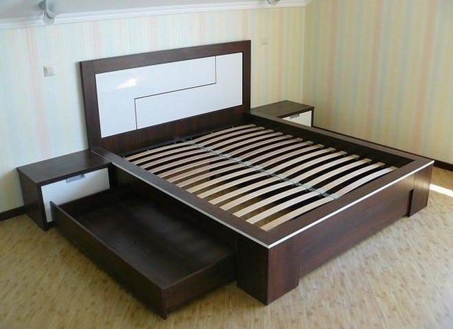 Разновидности кроватей подиумов