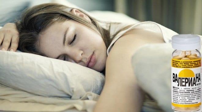 Валерьянка для сна