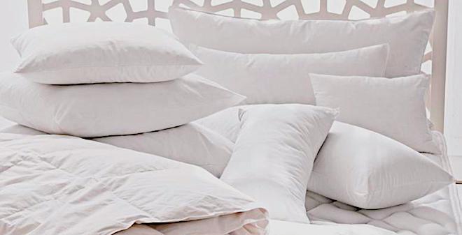 размеры подушек